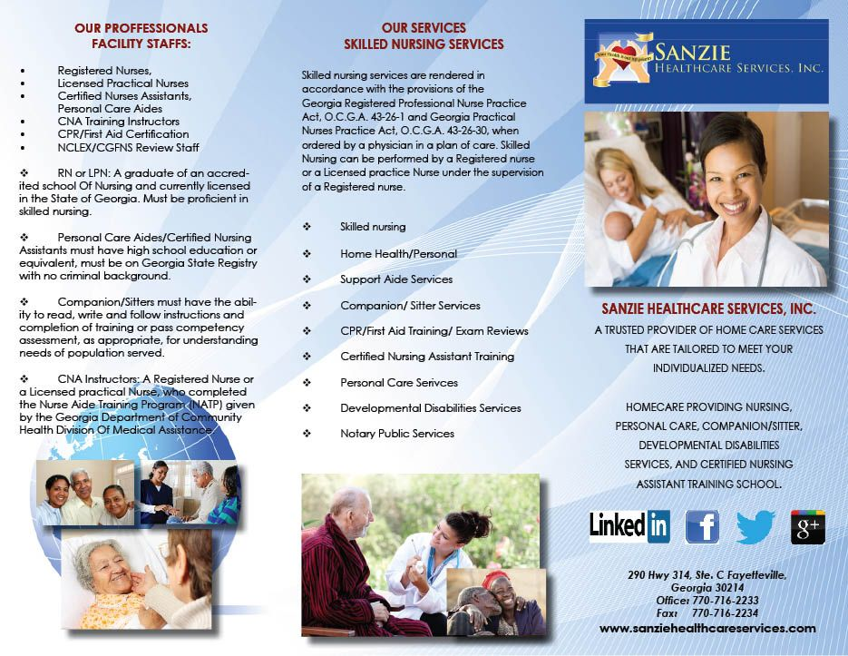Sanzie Healthcare Services, Inc. was founded in 2010 as a