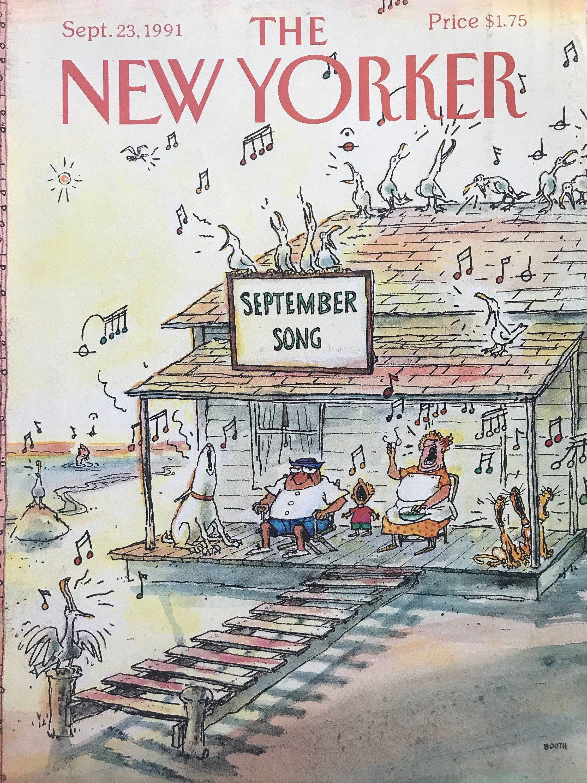 September 23 1991 The New Yorker Complete Magazine In Etsy In 2021 New Yorker Covers The New Yorker The New Yorker Covers
