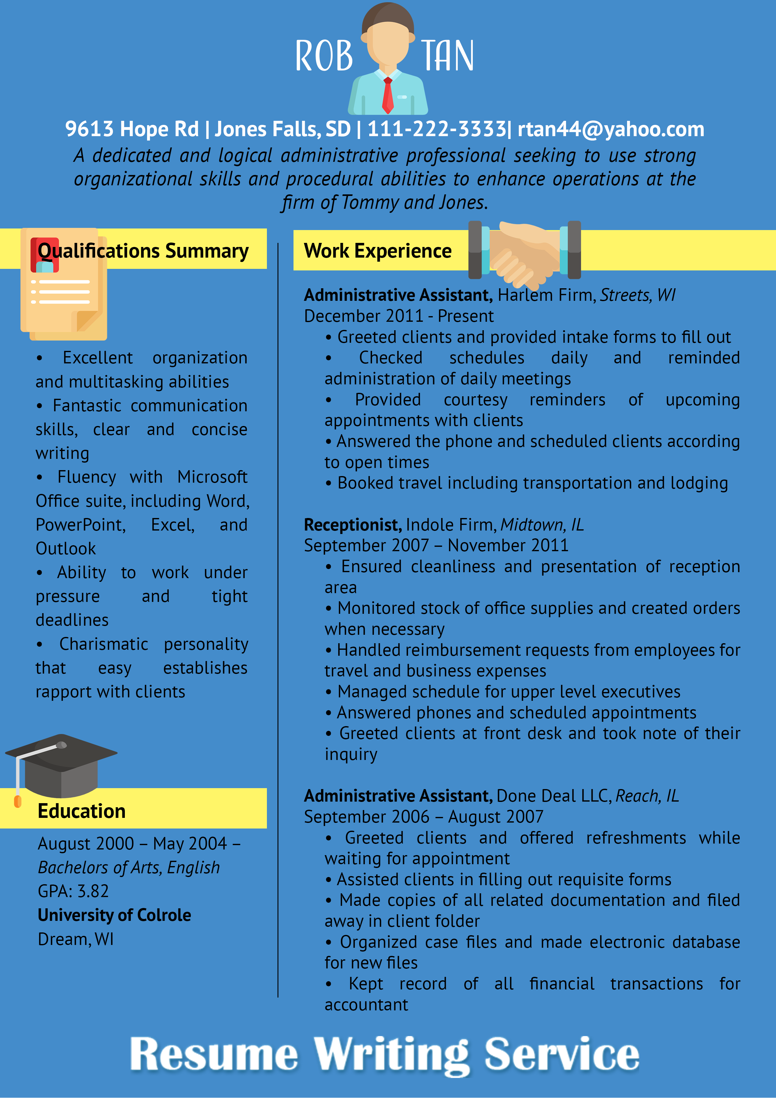 Make Your Resume Stronger With The Help This Professional Resume