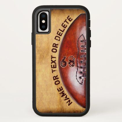 X Treme Tough Personalized Football Phone Cases - kids kid child gift idea diy personalize design