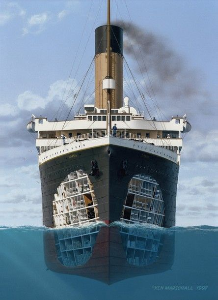 Buanatri Inside The Titanic Rms Titanic Barcos Maquetas De Barcos