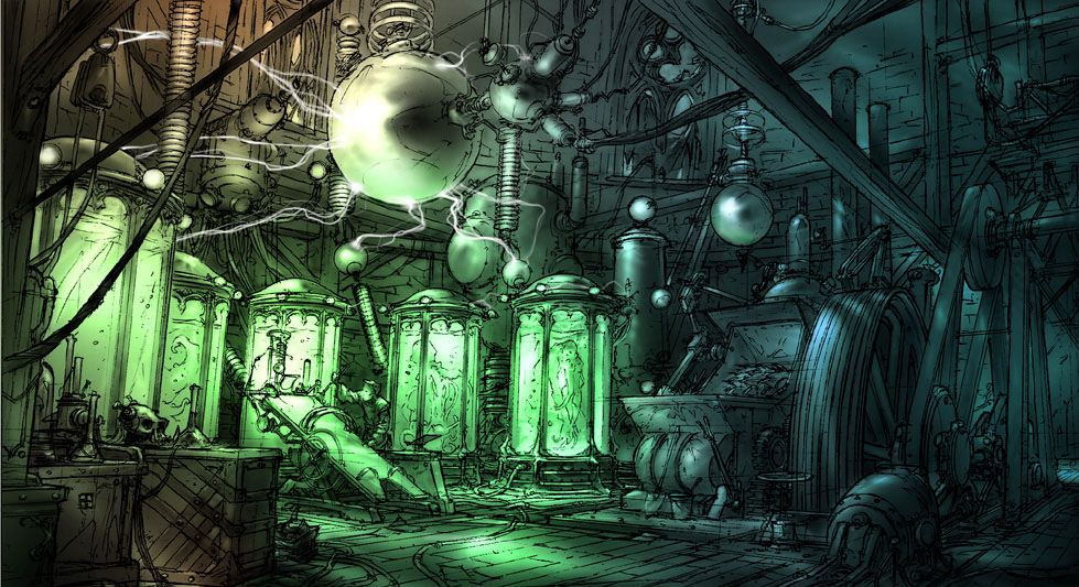 Image result for mad scientist laboratory