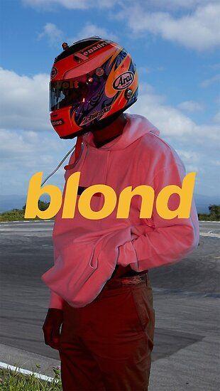 Frank Ocean Poster, Art Print, Etc. - Blonde Aesthetic Poster by chloeburke
