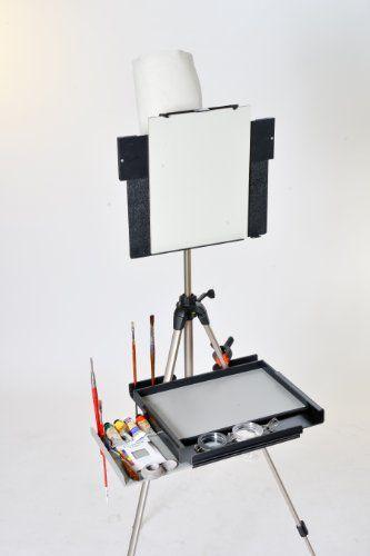 Advanced Series En Plein Air Pro Oil & Acrylic Easel Package with Sliding Shelf and Sunpak 6601 Tripod En Plein Air Pro http://www.amazon.com/dp/B00B29ZTZY/ref=cm_sw_r_pi_dp_U83Bub15BM6B6