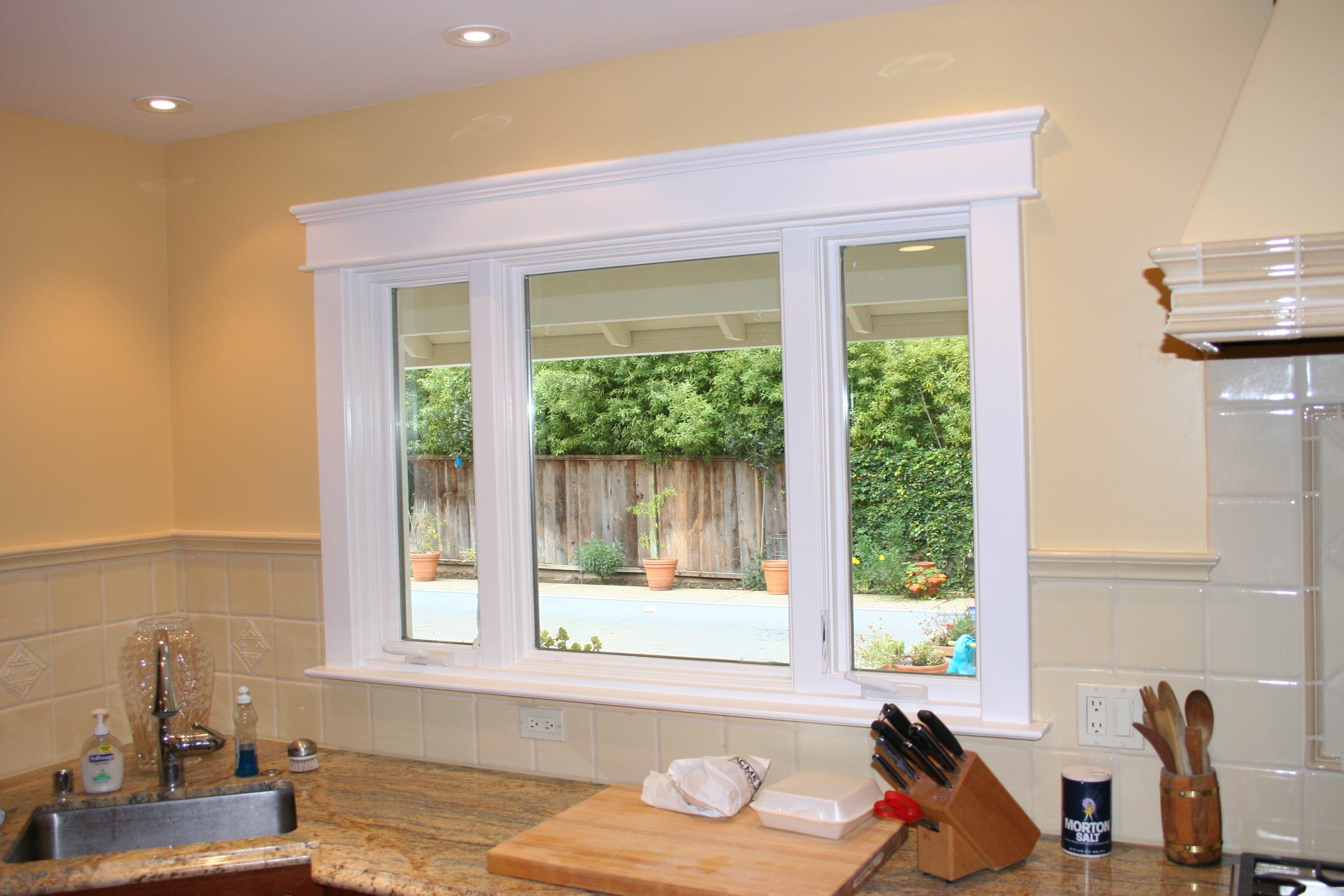 Fluted Window Casing Google Search Interior Windows Modern Farmhouse Interiors Interior Window Trim