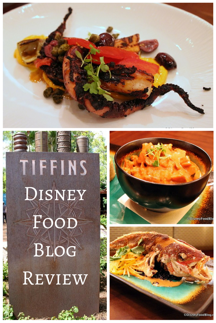 The Full Review From Disneyfoodblogcom Of Tiffins A New Signature