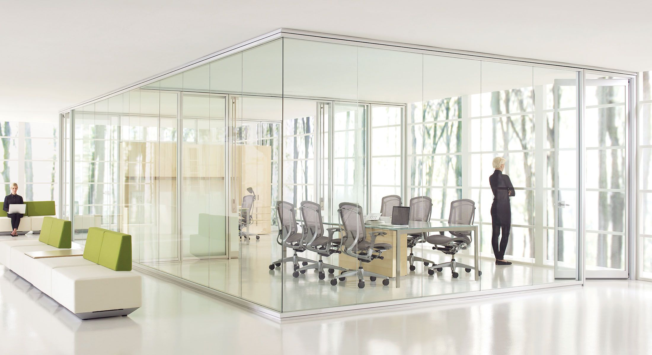 Optos Low Profile Wall Partitions Teknion Office Furniture Demountable Walls Pinterest