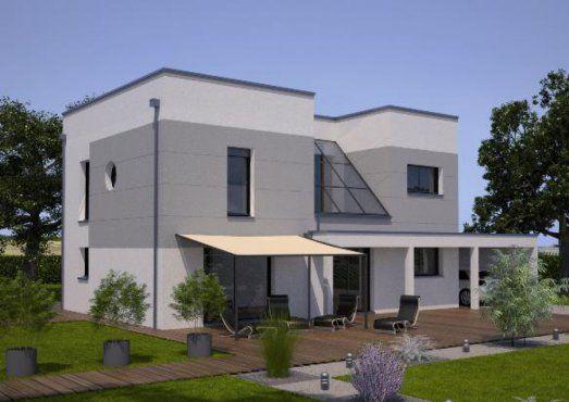 Plan maison neuve à construire - Marc Junior Eco Design 140 - modele maison a construire