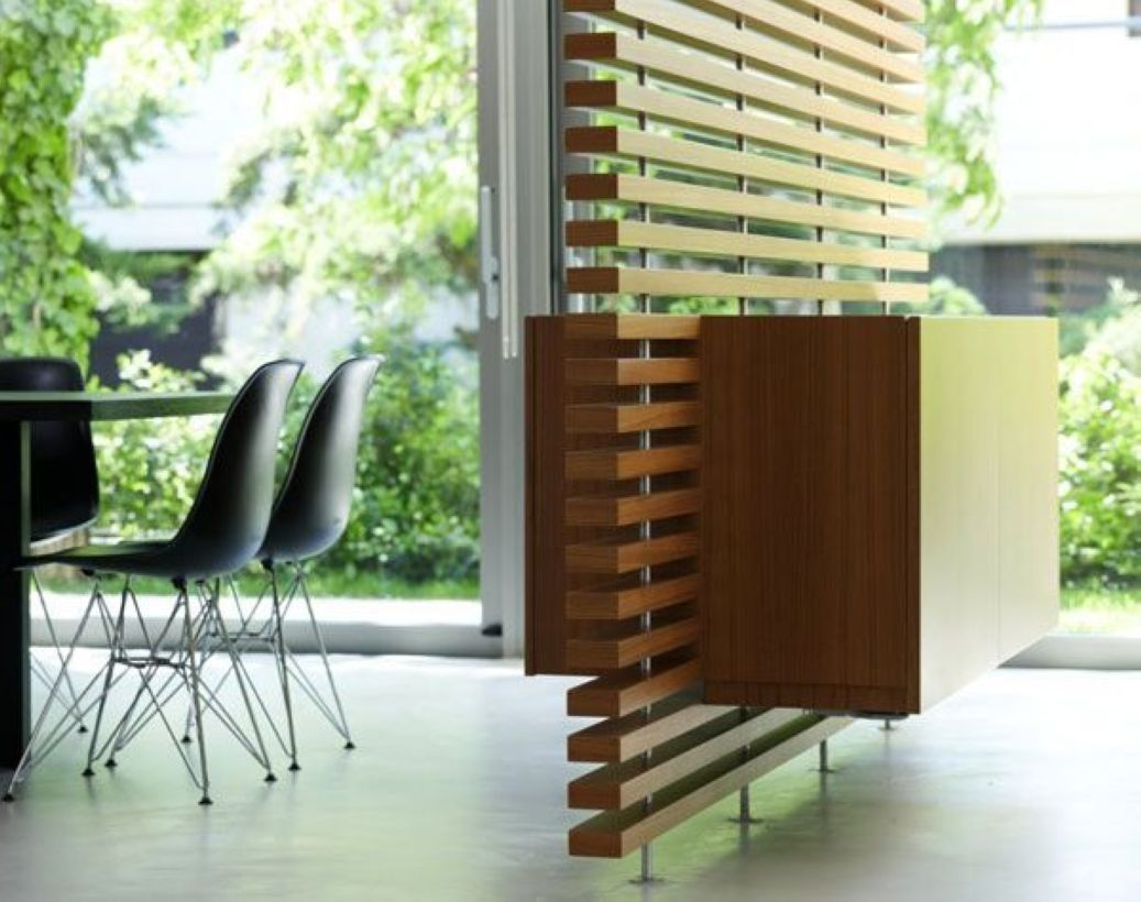 creative wooden screen space dividers design casa pinterest