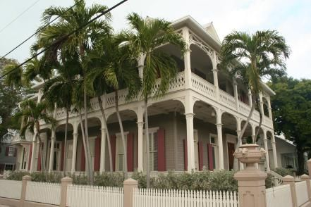 Key West was prosperous in the 19th century, from salvaging shipwrecks, cigar manufacturing and sponging, among other industries. Many of the grand homes from that era have been turned into guesthouses but some are still private homes, which sell for several million dollars after restoration.