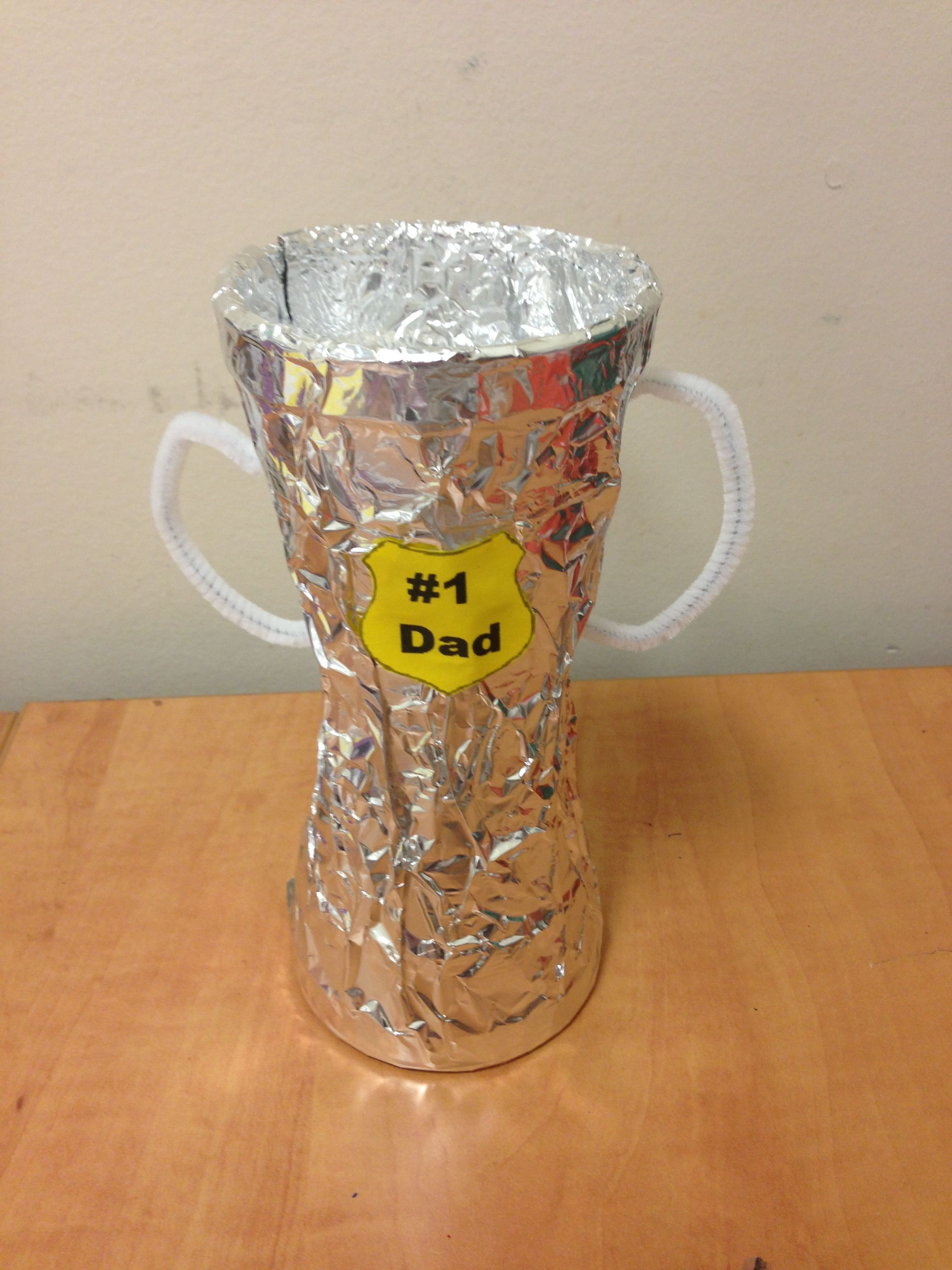Preschool Father S Day Trophy Craft