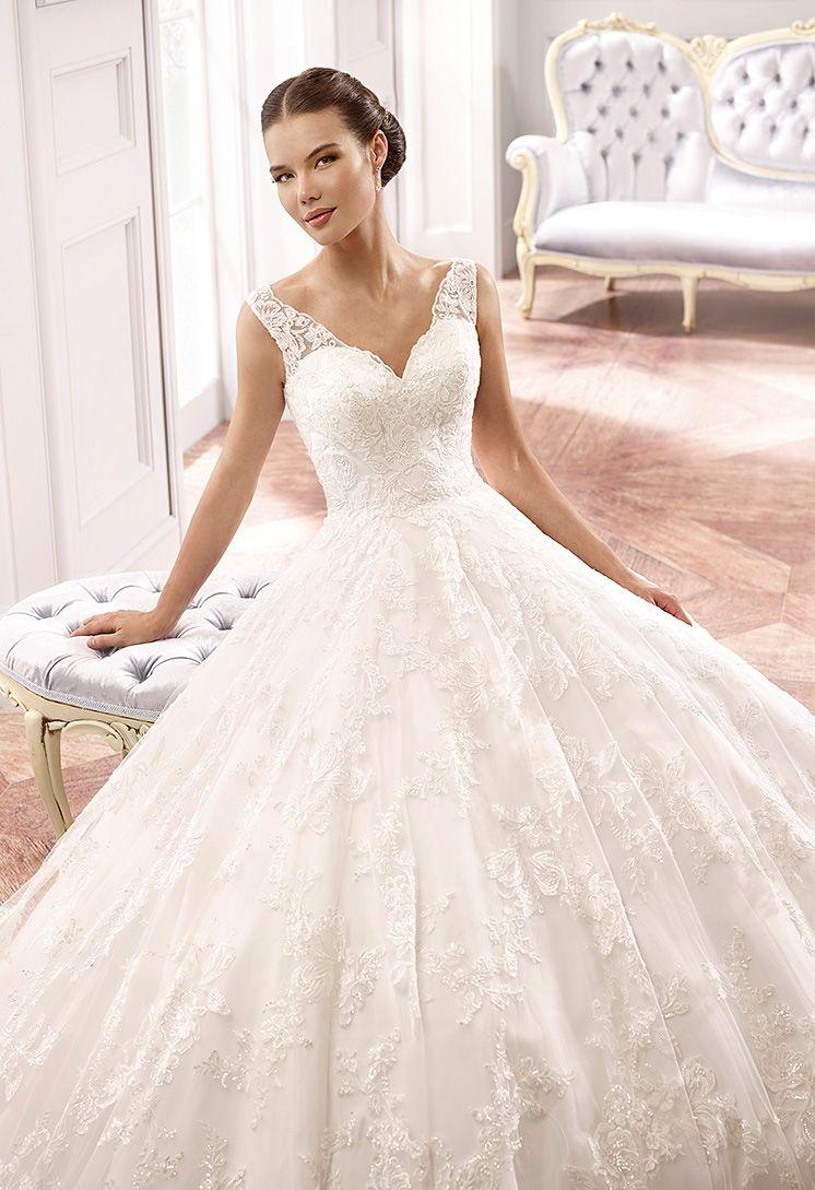 Eddy K Brautkleid 2015 MD159_close | wedding dreams | Pinterest ...