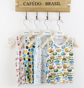 new 2014 spring summer children kid sports cartoon print boys girls clothing t-shirt shirt top tee baby vest child wholesale $18.89/lot