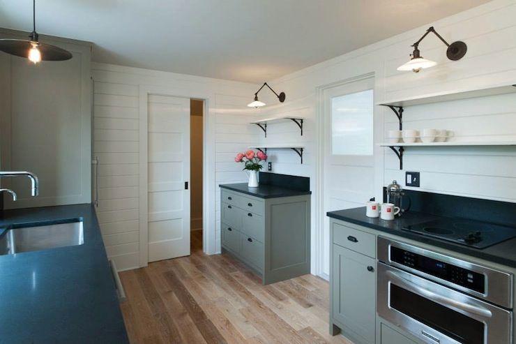 JAS Design Build - kitchens - kitchen paneling, paneled ...