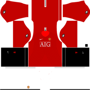 Manchester United Kits 2008 2009 Dream League Soccer In 2020 Manchester United Manchester United Third Kit Manchester United Home Kit
