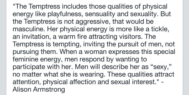 what is a temptress archetype