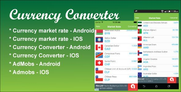 Currency converter software mobile