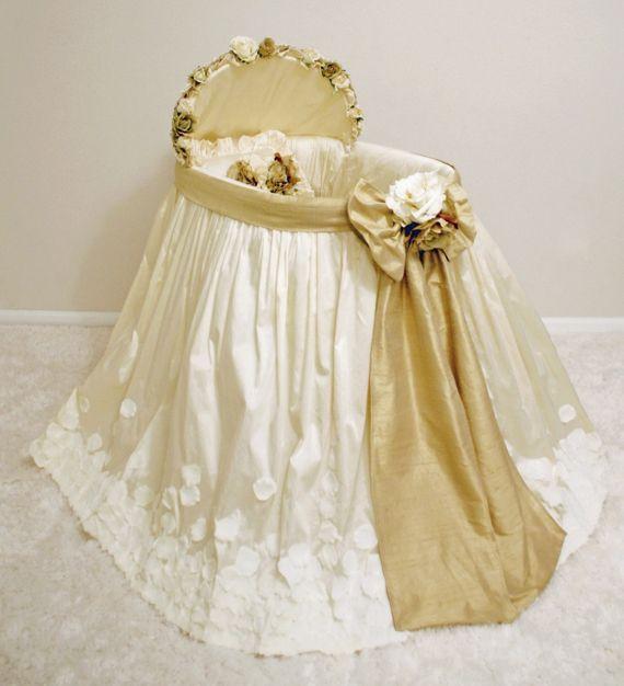 Baby Bassinet Skirts