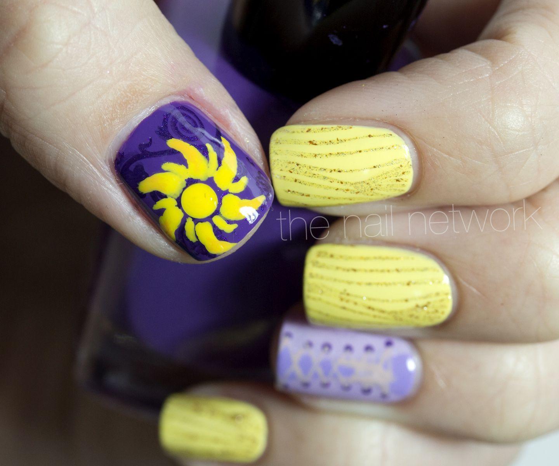 Disney Princess Nails: The Nail Network: Disney Princess Nail Art Series