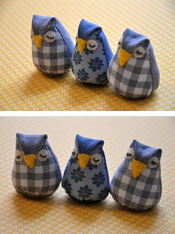 eulenkissen aus lavendel owl pinterest eulenkissen lavendel und n hen. Black Bedroom Furniture Sets. Home Design Ideas