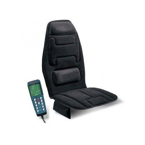 Heated Massage Chair Cushion Recliner Chair Seat Back Full Body Portable Lumbar Memory Foam Seat Cushion Massage Cushions Seat Cushions
