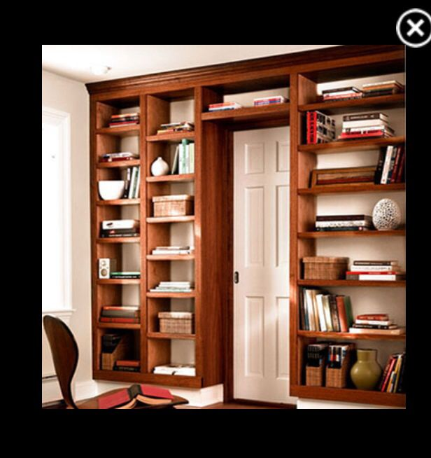 How To Build A Bookcase: Step By Step Woodworking Plans   Popular Mechanics  Been Wanting To Do This Around The Toy Room Doors In The Living Room Since  We ...