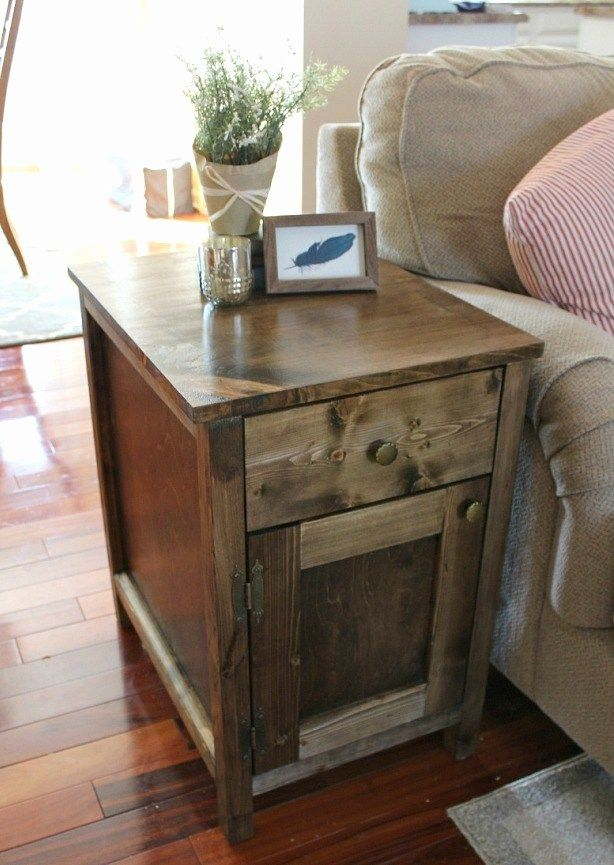 living room end tables with storage beautiful diy