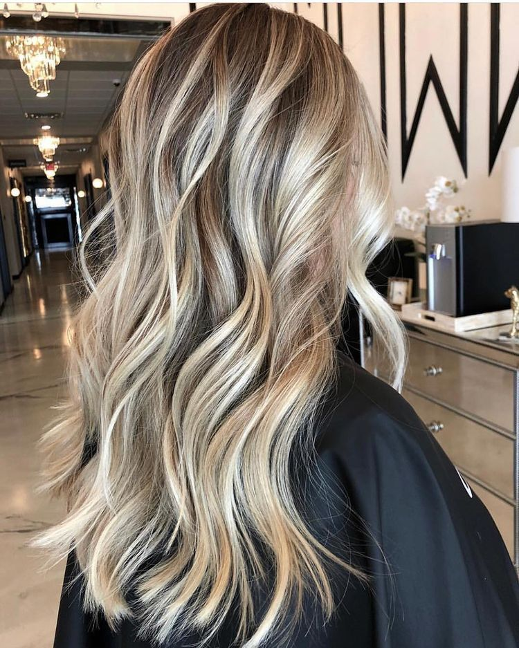 Tape in Balayage Dark Brown Highlighted Blonde Human Hair Extensions #4/14/60 - #balayage #blonde #brown #extensions #highlighted #human - #new #humanhairextensions