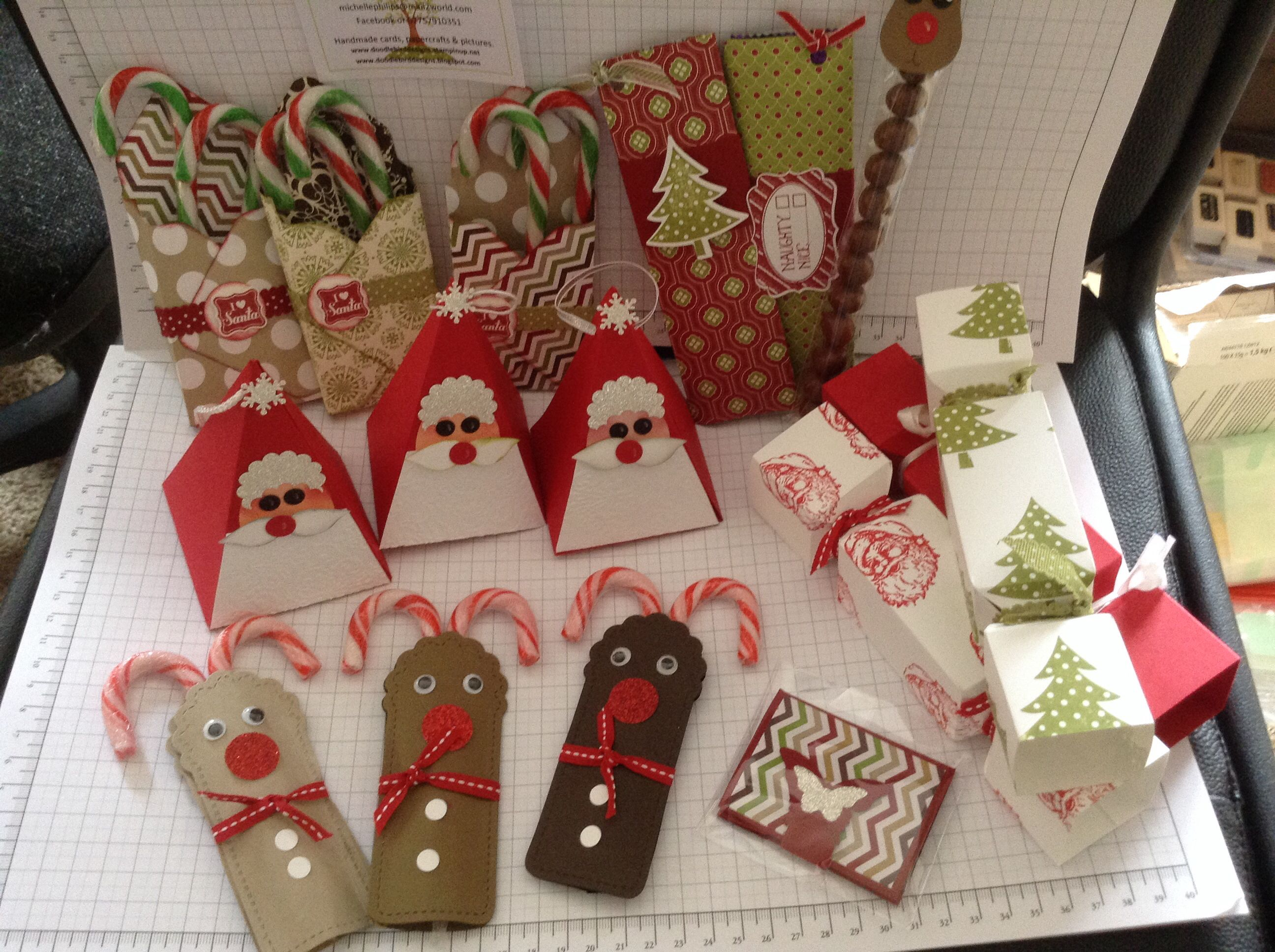 Stampin Up Christmas Craft Fair Ideas Part - 42: Some Of My Craft Fayre Creations Using Stampinu0027 Up!