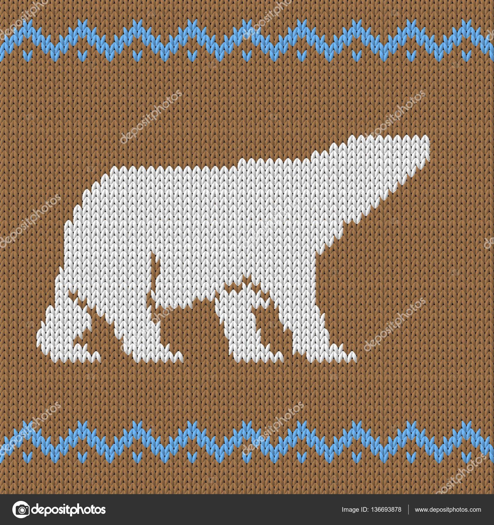 Bildergebnis für strickvorlage Eisbär | # 2Crochet ✰ Häkeln ...