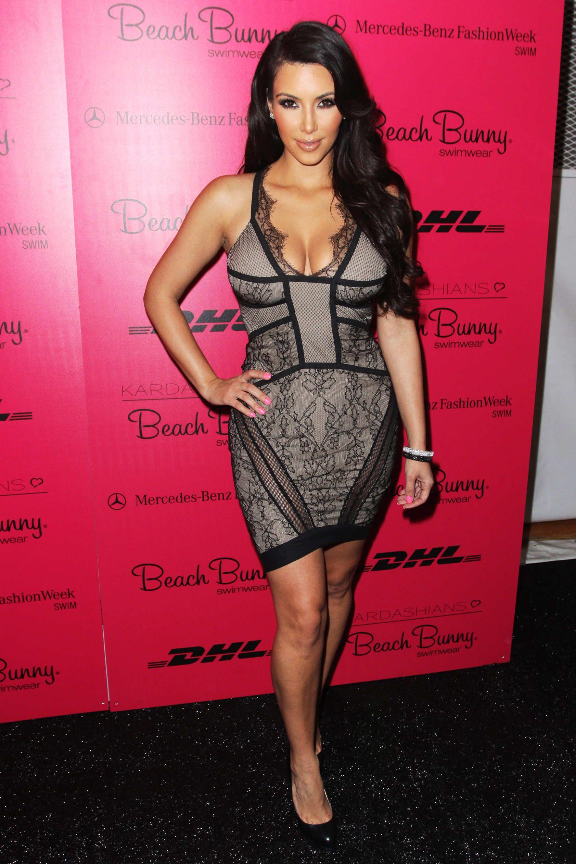 Pink cut out dress kim kardashian  July    Fashion