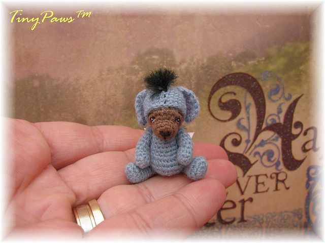 quadruplets eeyore by Tiny Paws™, via Flickr