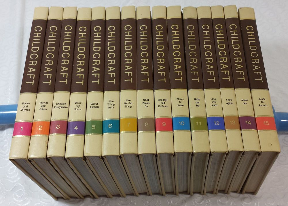 Vintage 1973 Edition CHILDCRAFT How and Why Library Complete 15-Volume Set Clean | Vintage children's books, Vintage, Library