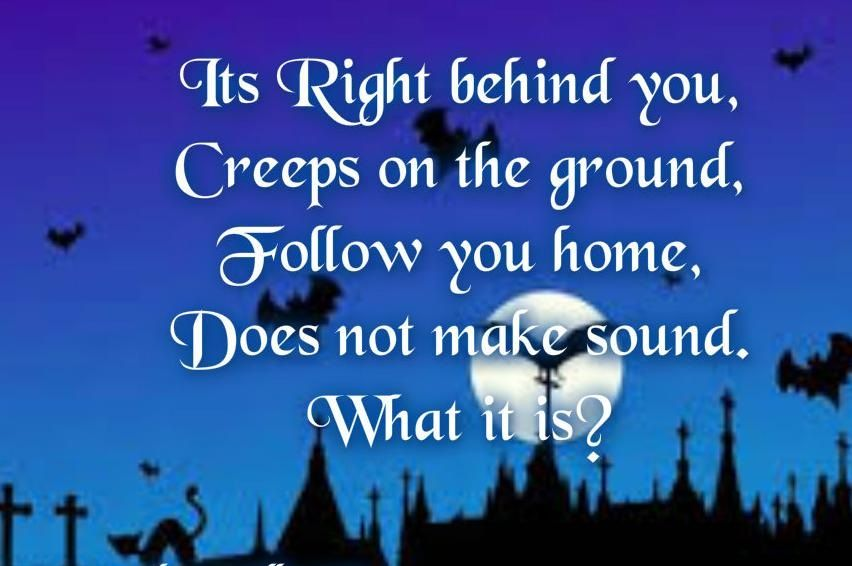Halloween Riddles for Adults