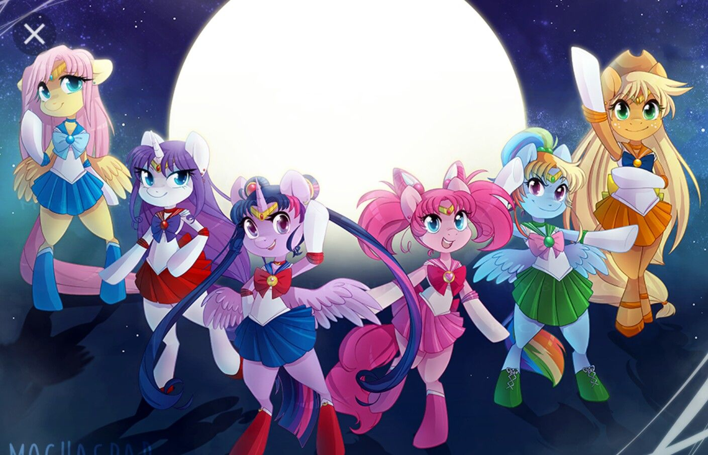Mlp sailor moon | Pony Crossovers | Pinterest | MLP, Pony ...
