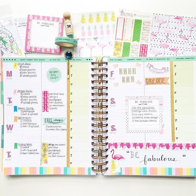 Ready for some uber cute @theplannersociety goodness?! Here's my #theplannersocietykitclub in action in my beloved @inkwellpress flex planner! I haven't filled in my etsy shop stats yet because I just reopened yesterday but I will fill the side bar in as the days go by. I don't think I'll ever get tired of flamingos and pineapples! Absolutely loving guest designing for this month  ================================= #theplannersociety #inkwell #inkwellpress #inkwellpressplanner #iwp #inkwell…