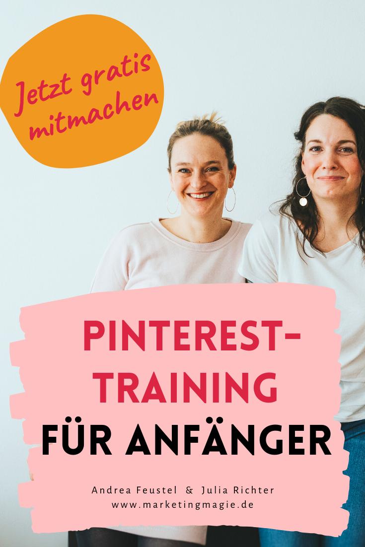Gratis Pinterest-Erfolgstraining für Selbstständige und Unternehmen. 5 essenzielle Pinterest-Tipps — marketingmagie