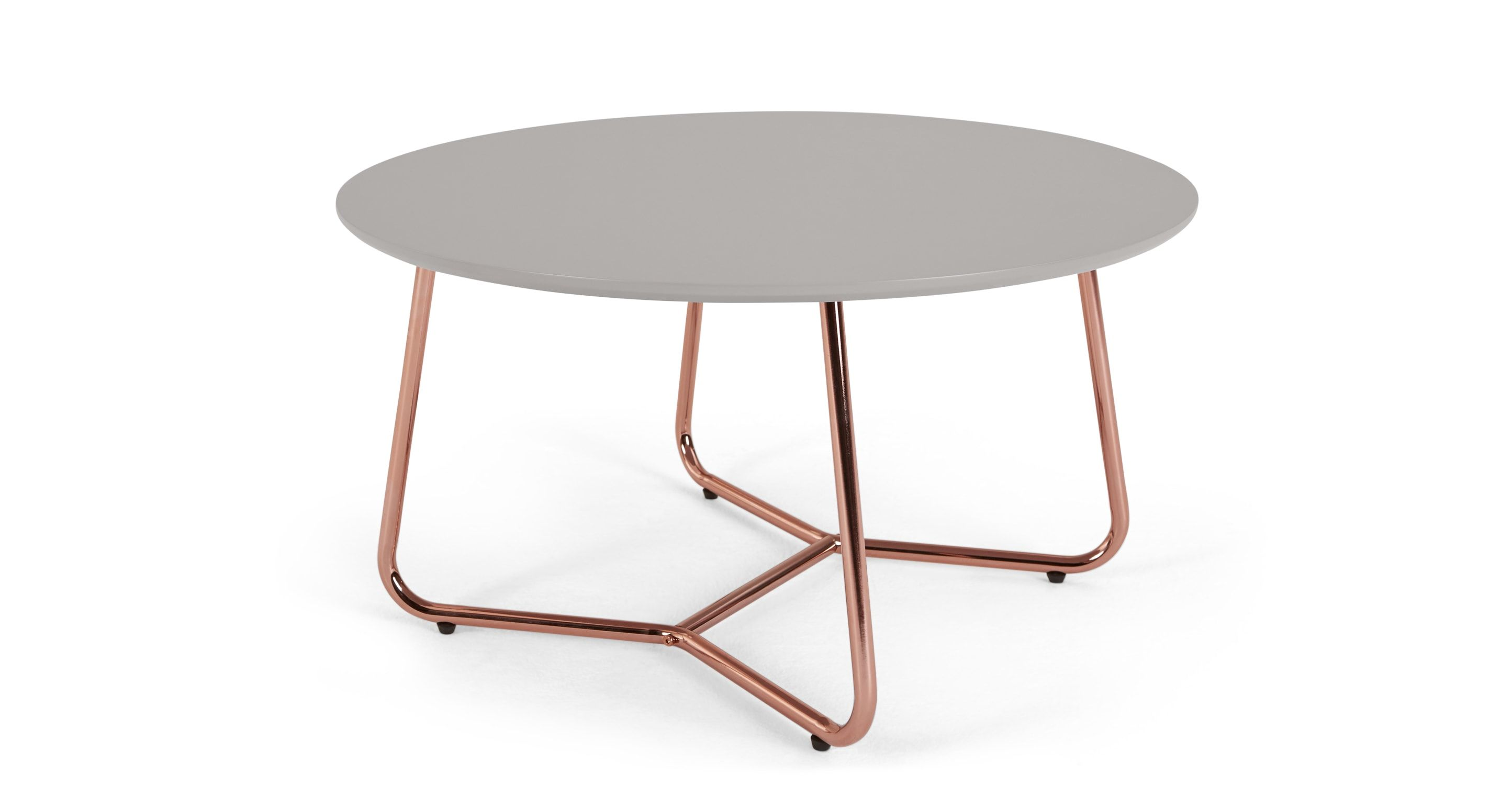 Nyla Coffee Table Grey And Copper Contemporary Coffee Table Cool Coffee Tables Modern Coffee Tables