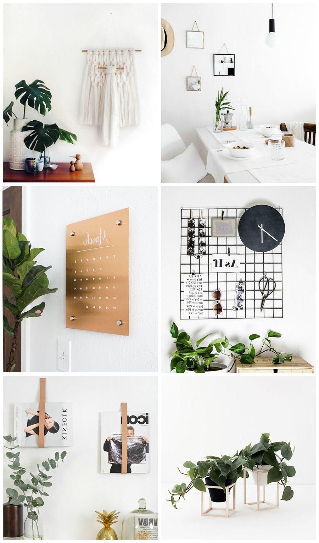 9 Minimalistische DIY Deko Ideen für moderne Wohnzimmer - DIY