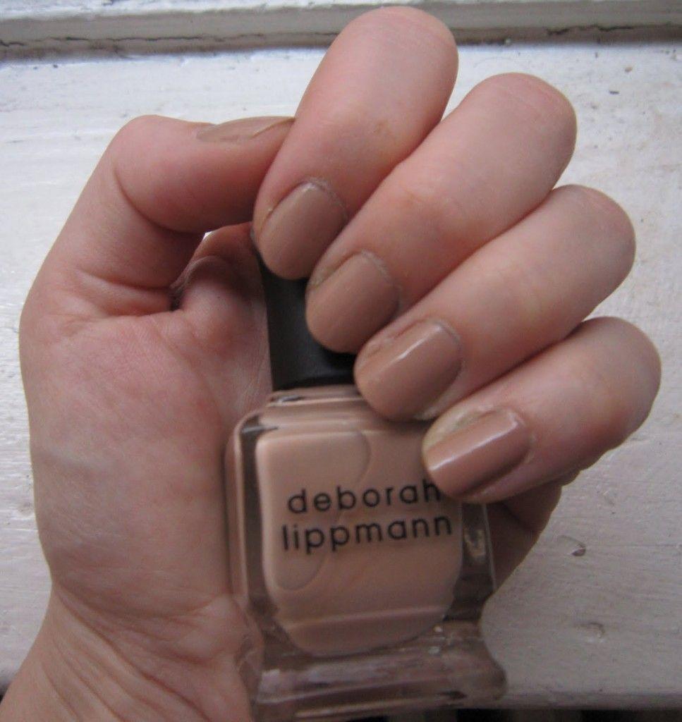 Deborah Lippmann – Fashion. One of my go-to nudes. | Nail Polish I ...