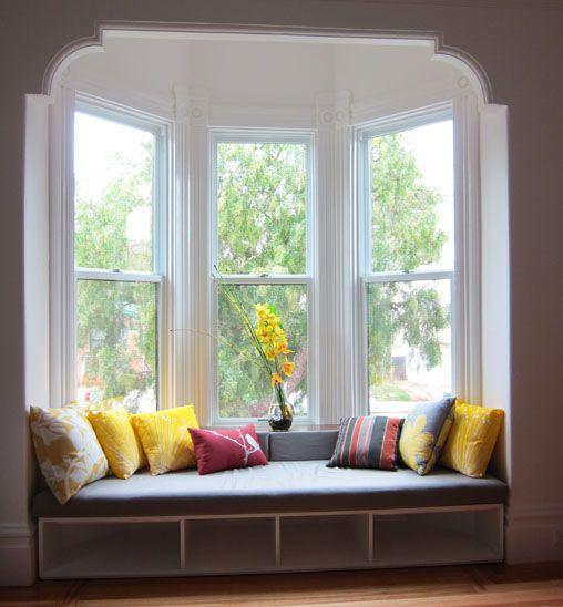 Contemporary Bay Window Ideas: Modern Bay Window Bench Dimentions - Google Search