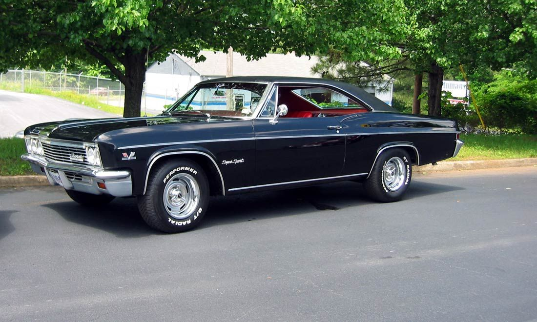 66 Chevy Impala With Images Classic Cars Muscle Classic Cars