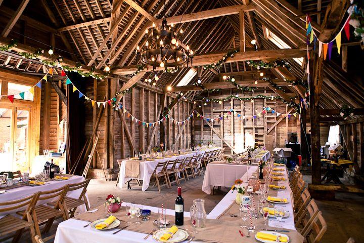 Colourful DIY Farm Wedding In Berkshire