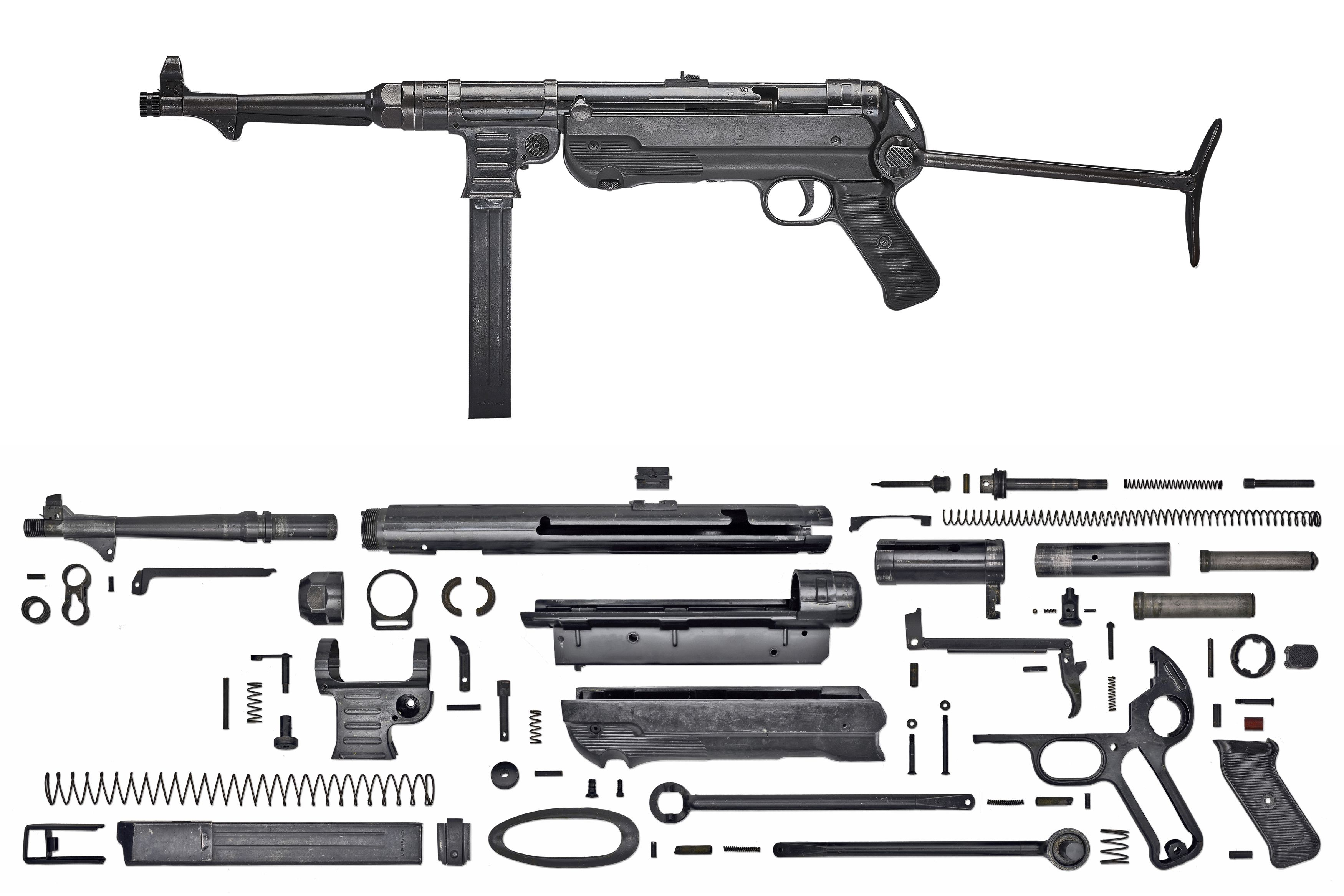 Anatomy-SMG-German-MP40.jpg (3500×2334) Speed up and simplify the ...
