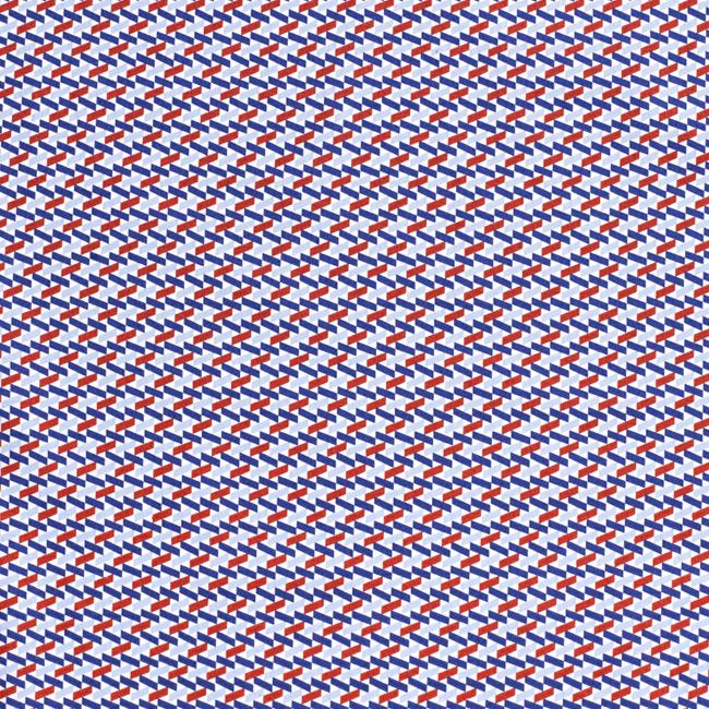 geometric and modern... love prints this season   Perry Ellis
