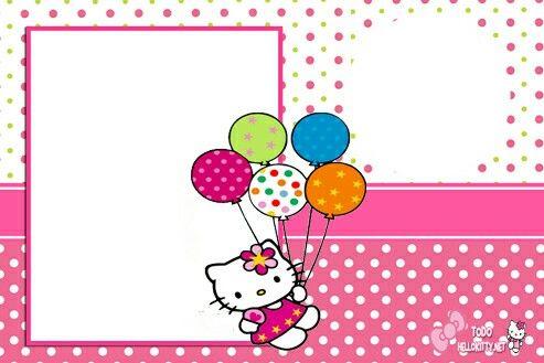 Hello Kitty Hello Kitty Invitations Hello Kitty Birthday