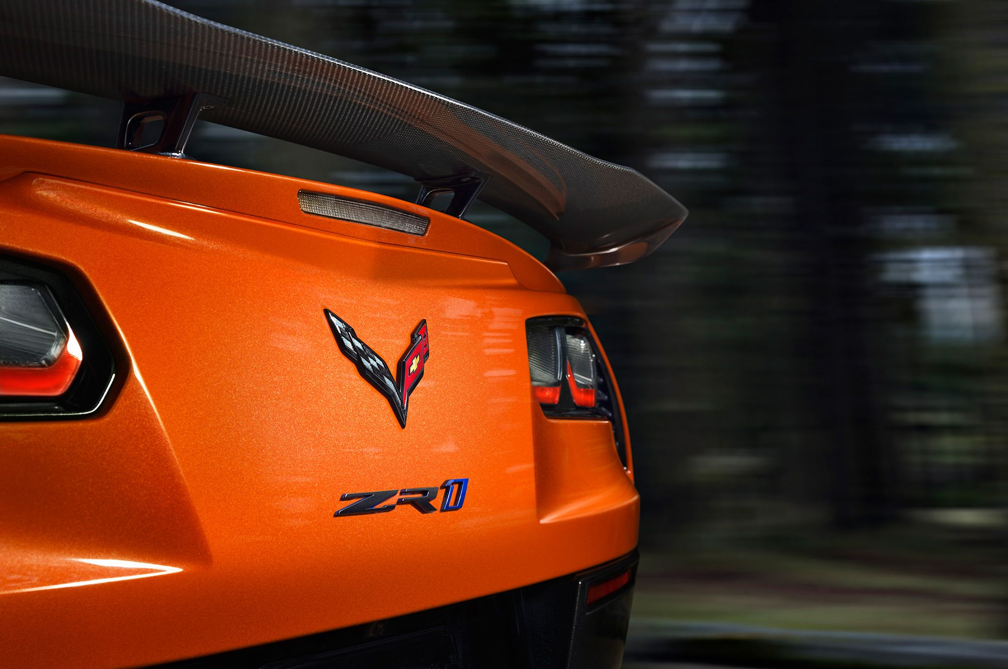 2019 chevrolet corvette ZR1 low wing
