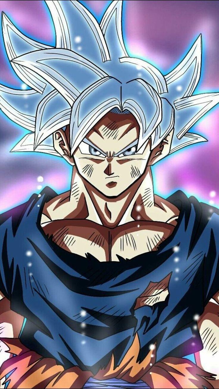 Goku Mastered Ultra Instinct Dragon Ball Dragon Ball Gt