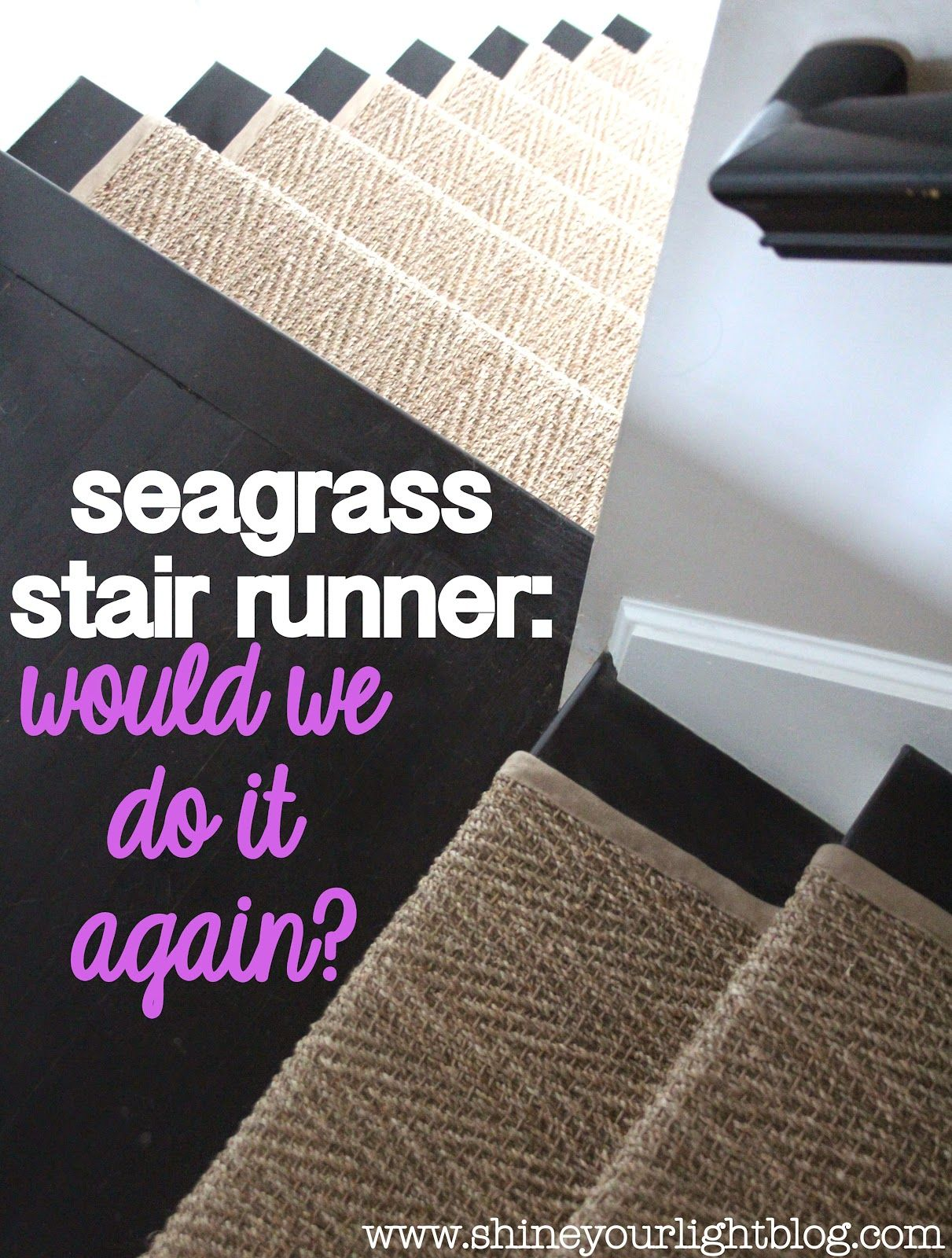 Best How Our Natural Fiber Stair Runner Has Held Up Hallway 400 x 300