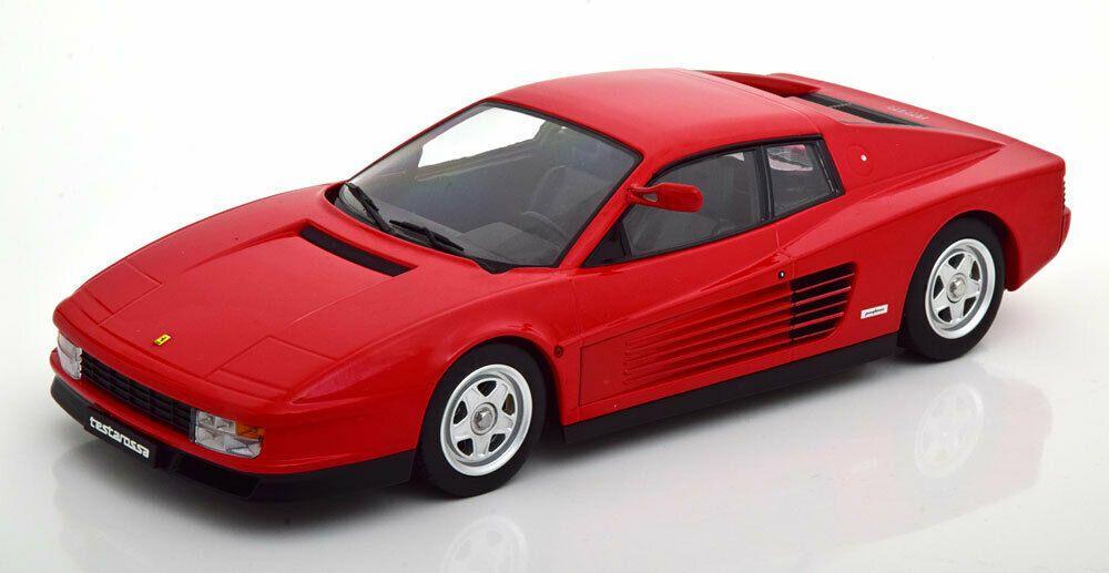 1 18 Scale Kk Scale Models Ferrari Testa Rossa Red Limited Edition 1250 Pcs Ebay Diecast Model Cars Diecast Ferrari Testarossa